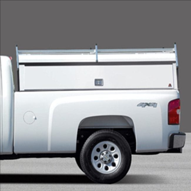 Truck Caps - Truck Cap Organization - Truck Cap with Door